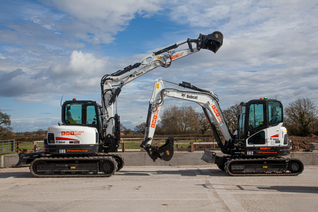 It's a fast start for EMY Plant Hire